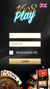 Login Play1628 Mobile